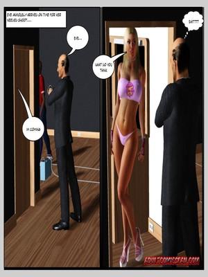8muses 3D Porn Comics, Interracial Comics Blacknwhite – The Birth of a Star image 09