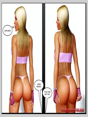 8muses 3D Porn Comics, Interracial Comics Blacknwhite – The Birth of a Star image 17