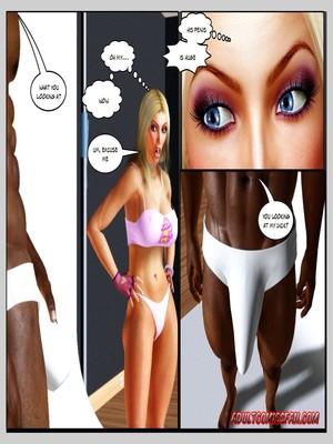 8muses 3D Porn Comics, Interracial Comics Blacknwhite – The Birth of a Star image 20