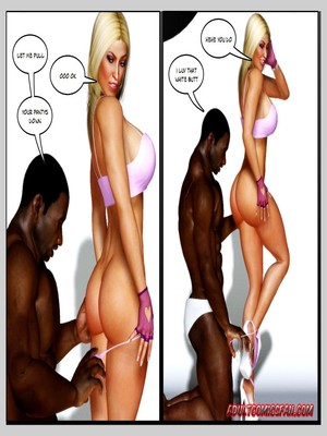 8muses 3D Porn Comics, Interracial Comics Blacknwhite – The Birth of a Star image 31