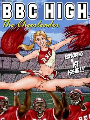 BlacknWhite- BBC high the cheerleader 1 8muses Interracial Comics