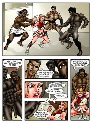 8muses Interracial Comics BlacknWhite- BBC High- The Head Cheerleader 2 image 03