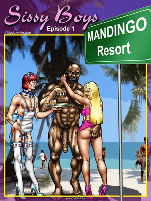 BlacknWhite- Sissy boys 8muses Interracial Comics