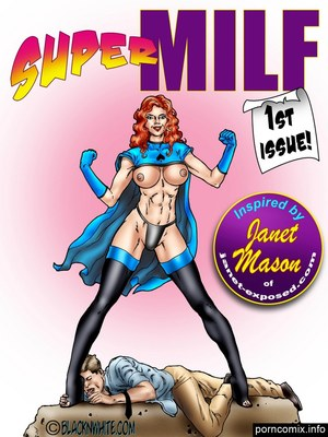 BlacknWhite- Super MILF 8muses Interracial Comics