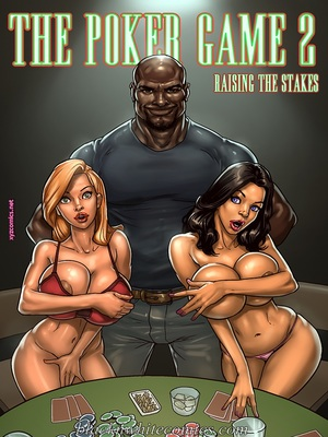 BlacknWhite- The Poker Game 2 8muses Interracial Comics