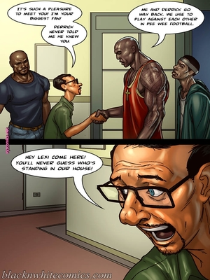 8muses Interracial Comics BlacknWhite- The Poker Game 2 image 04