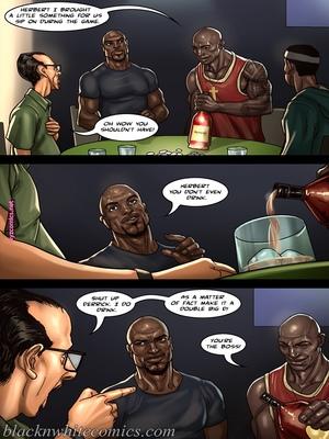 8muses Interracial Comics BlacknWhite- The Poker Game 2 image 06
