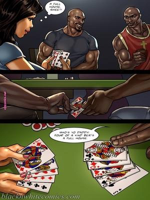 8muses Interracial Comics BlacknWhite- The Poker Game 2 image 13