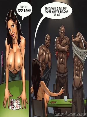 8muses Interracial Comics BlacknWhite- The Poker Game 2 image 15