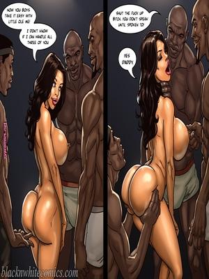 8muses Interracial Comics BlacknWhite- The Poker Game 2 image 21