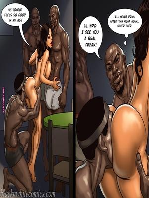 8muses Interracial Comics BlacknWhite- The Poker Game 2 image 23