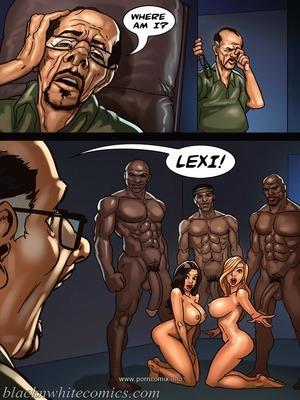 8muses Interracial Comics BlacknWhite- The Poker Game 2 image 81