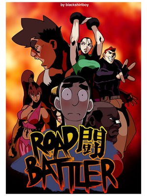Blackshirtboy- Road Battler 8muses Adult Comics