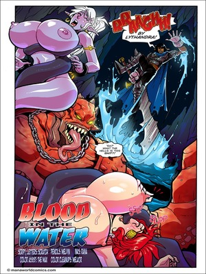 Blood in the Water- Mana World 8muses Porncomics
