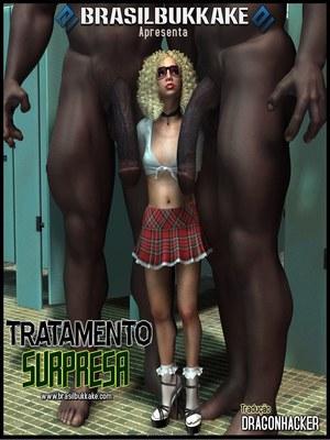 Brasilbukkake – Tratamento Surpresa 8muses 3D Porn Comics