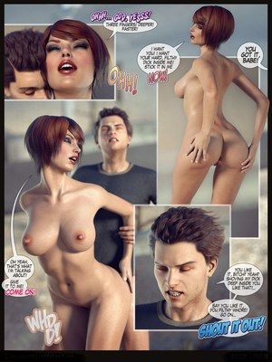 8muses 3D Porn Comics Busted! – World of Peach image 12