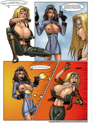 8muses Porncomics Busty Bombshell- Axis of Evil- DeucesWorld image 04
