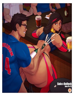 8muses Adult Comics Carmessi- Date With Gala image 23
