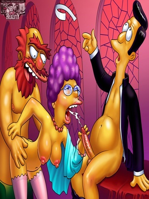Cartoon Reality – Simpsons Aniversary 2 8muses Adult Comics