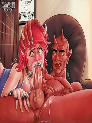 8muses Adult Comics Cartoon Reality- Horny Americans image 02