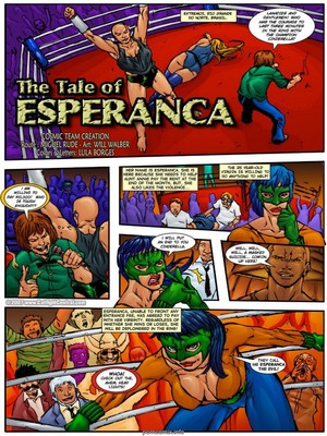 CatFightCentral- The Tale of Esperanca 8muses Adult Comics