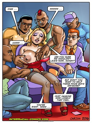 8muses Interracial Comics Charity couple- Interracial image 05