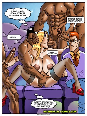 8muses Interracial Comics Charity couple- Interracial image 10