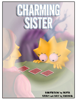 8muses Adult Comics Charming Sister – The Simpsons image 01