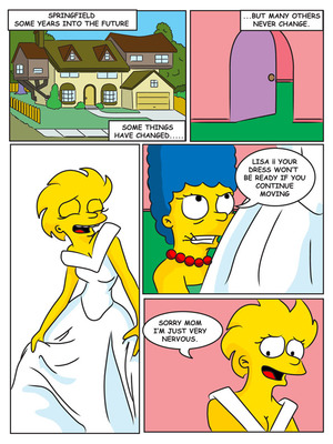 8muses Adult Comics Charming Sister – The Simpsons image 02