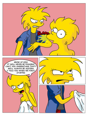 8muses Adult Comics Charming Sister – The Simpsons image 08