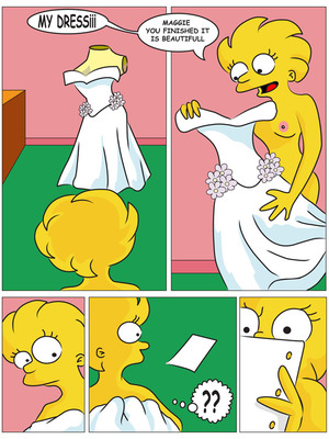 8muses Adult Comics Charming Sister – The Simpsons image 25