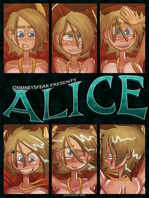 Chimneyspeak- Alice 8muses Adult Comics