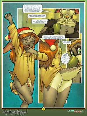 Christmas Present- Bonk 8muses Adult Comics