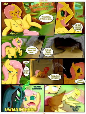 Chrysalis' Leitmotif (My Little Pony) 8muses Adult Comics