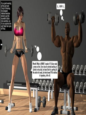 Cindy & Paul at the Gym 8muses 3D Porn Comics