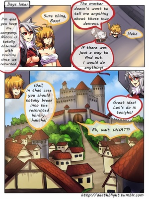 8muses Hentai-Manga Crescentia- Deathblight Ch. 2 image 02