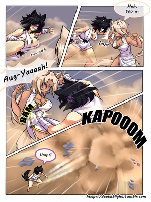 8muses Hentai-Manga Crescentia- Deathblight Ch. 2 image 06