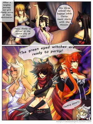 8muses Hentai-Manga Crescentia- Deathblight Ch. 2 image 35