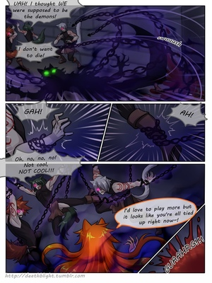 8muses Hentai-Manga Crescentia- Deathblight Ch. 2 image 38