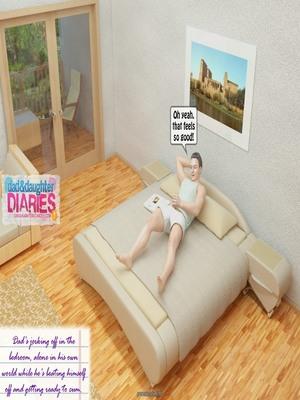 8muses 3D Porn Comics Dad + Daughter Diaries- 02 image 01