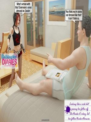 8muses 3D Porn Comics Dad + Daughter Diaries- 02 image 04
