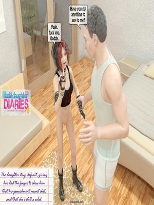 8muses 3D Porn Comics Dad + Daughter Diaries- 02 image 13