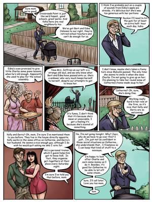 8muses Adult Comics Danny Richard- Saturday Night Seance image 02