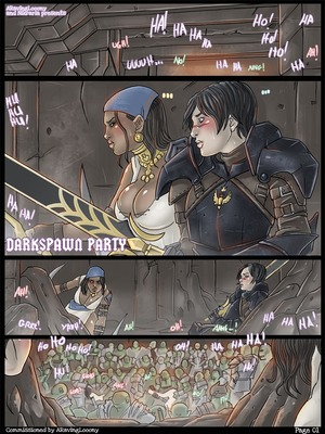 Darkspawn Party (Dragon Age) 8muses Porncomics