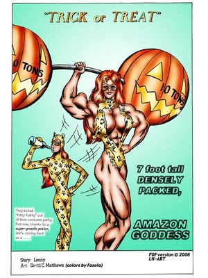 8muses Adult Comics [David C. Matthews] Trick Or Treat image 01