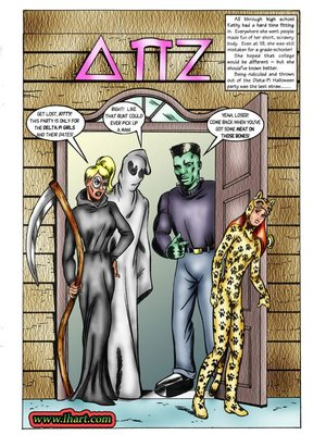 8muses Adult Comics [David C. Matthews] Trick Or Treat image 02