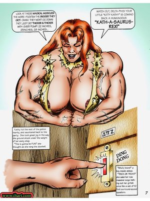 8muses Adult Comics [David C. Matthews] Trick Or Treat image 06