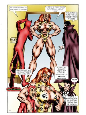 8muses Adult Comics [David C. Matthews] Trick Or Treat image 07