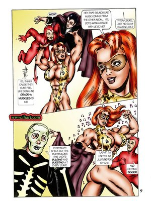 8muses Adult Comics [David C. Matthews] Trick Or Treat image 08