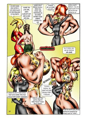 8muses Adult Comics [David C. Matthews] Trick Or Treat image 09